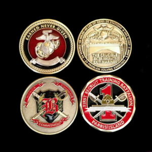 2 Challenge Coins