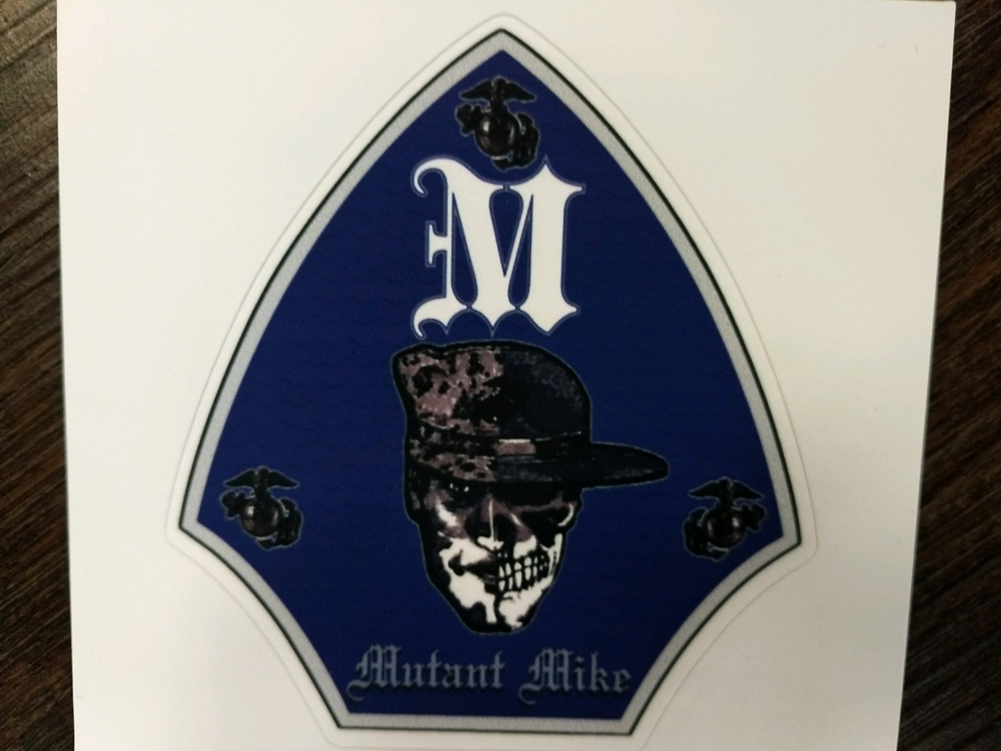 Mike Company Decal Devil Dog Headquarter