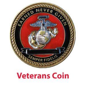Marine Veteran Coin