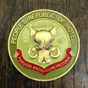 Parris Island Challenge Coin