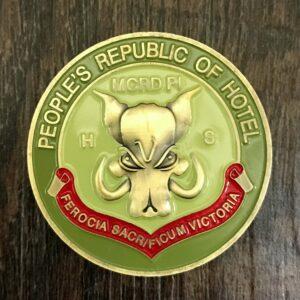 Parris Island Challenge Coin